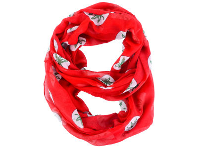 Ohio State Buckeyes All Over Logo Infinity Wrap Scarf