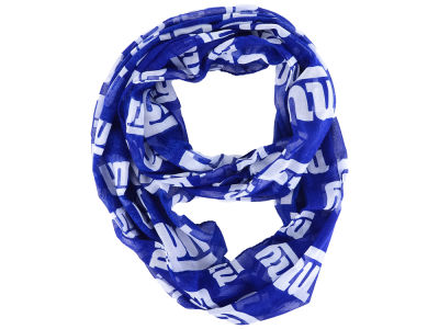 New York Giants All Over Logo Infinity Wrap Scarf