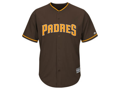 San Diego Padres Majestic MLB Men's Blank Replica Cool Base Jersey