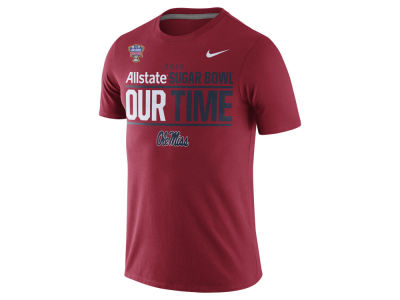 Ole Miss Rebels Nike NCAA 2016 Bowl Bound Our Time T-Shirt