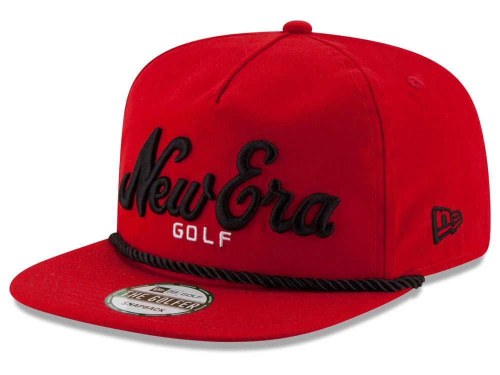 New Era Golf Golfer Script 2.0 9FIFTY Snapback Cap  ef5cf462ea7