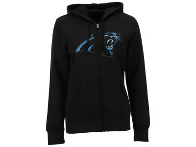 Carolina Panthers Majestic NFL Women's Win Big Full Zip Hooded Sweatshirt