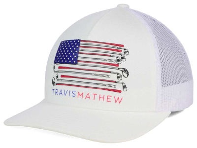 Travis Mathew Old Glory Snapback Hat