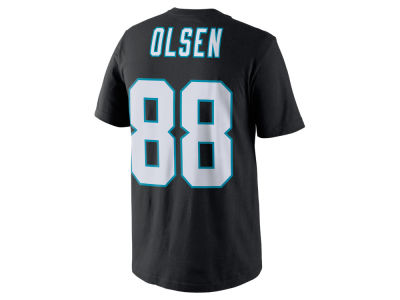 Carolina Panthers Greg Olsen Nike NFL Pride Name and Number T-Shirt