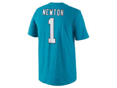 Carolina Panthers Cam Newton Nike NFL Men's Pride Name and Number T-Shirt