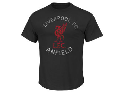 Liverpool FC Club Team Men's Softhand Logo T-Shirt
