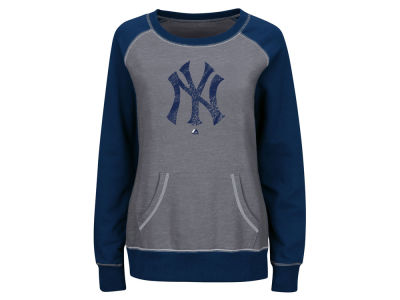 New York Yankees Majestic MLB Women's Everything & More Sweatshirt