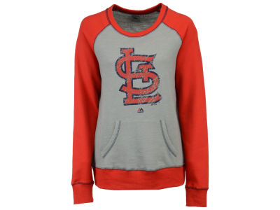 St. Louis Cardinals Majestic MLB Women's Everything & More Sweatshirt