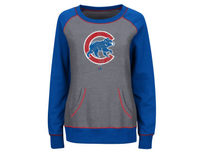 Chicago Cubs Majestic MLB Women's Everything & More Sweatshirt