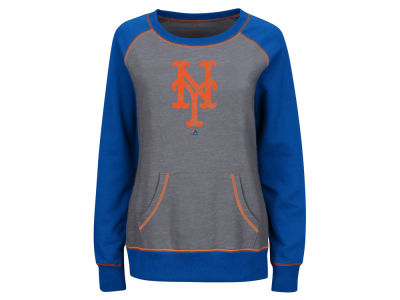 New York Mets Majestic MLB Women's Everything & More Sweatshirt