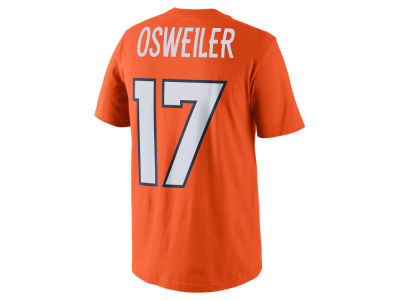 Denver Broncos Brock Osweiler Nike NFL Pride Name and Number T-Shirt