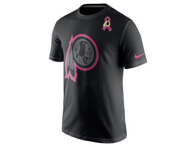 Washington Redskins Nike NFL Breast Cancer Awareness Travel T-Shirt