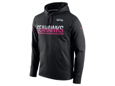 Seattle Seahawks Nike NFL Breast Cancer Awareness Circuit Pullover Hoodie