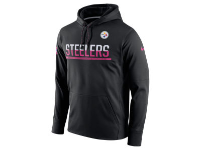 Pittsburgh Steelers Nike NFL Breast Cancer Awareness Circuit Pullover Hoodie