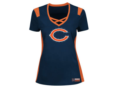Chicago Bears Majestic NFL Women's Draft Me T-Shirt