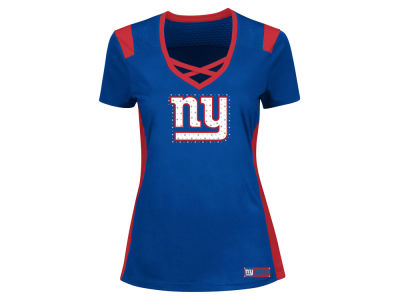 New York Giants Majestic NFL Women's Draft Me T-Shirt