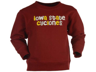 Iowa State Cyclones NCAA Newborn Comic Sans Crew Fleece Sweatshirt