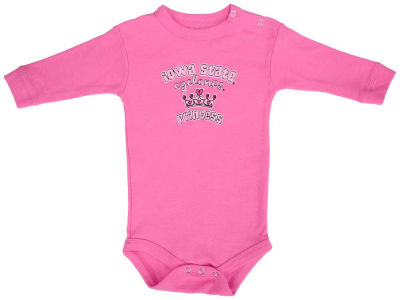 Iowa State Cyclones NCAA Newborn Girls Princess Long Sleeve Creeper