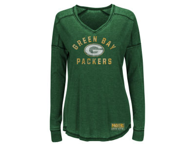 Green Bay Packers Majestic NFL Women's Victory Play Long Sleeve T-Shirt