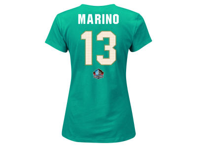 Miami Dolphins Majestic NFL Women's Hall of Fame Payer T-Shirt