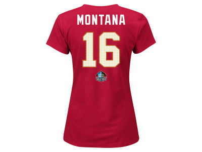 San Francisco 49ers Majestic NFL Women's Hall of Fame Payer T-Shirt