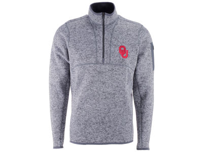 Oklahoma Sooners Antigua NCAA Men's Fortune Quarter Zip Pullover