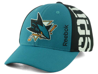 San Jose Sharks Reebok 2016 NHL Draft Flex Cap