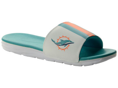 Miami Dolphins Nike NFL Men's Benassi Solarsoft Slide Sandals