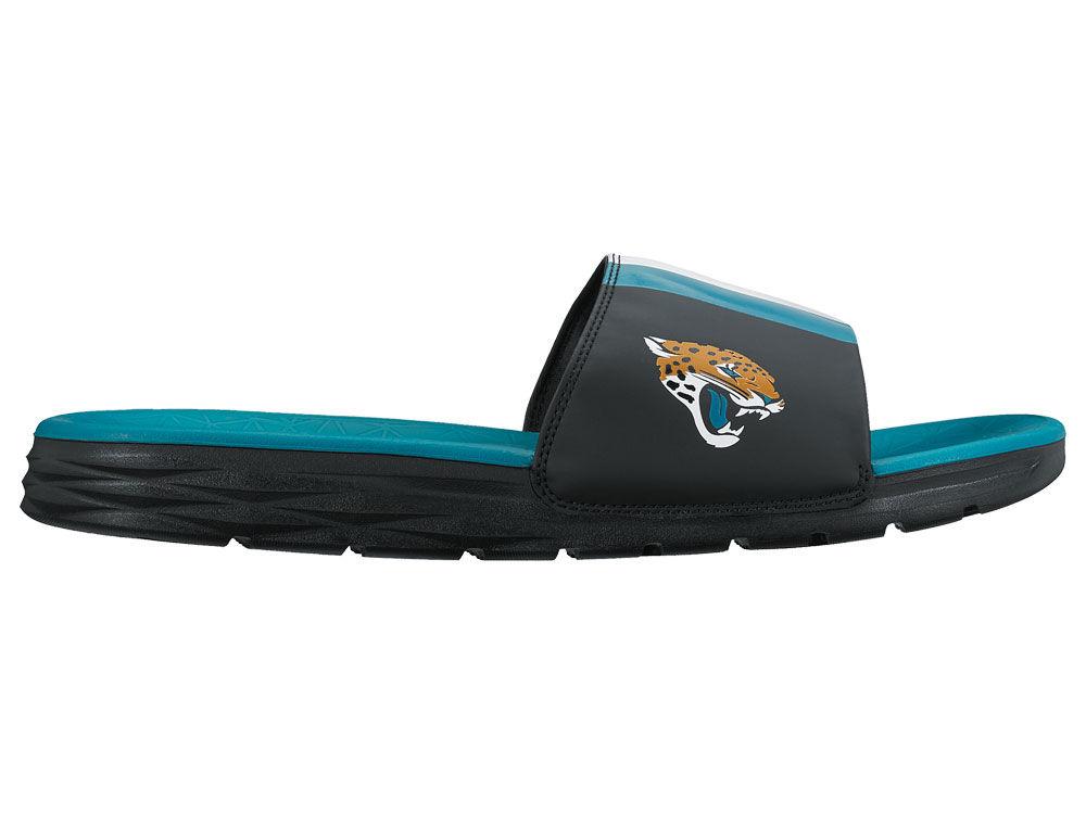 32f524e014733 Jacksonville Jaguars Nike Men s Benassi Solarsoft Slide Sandals ...