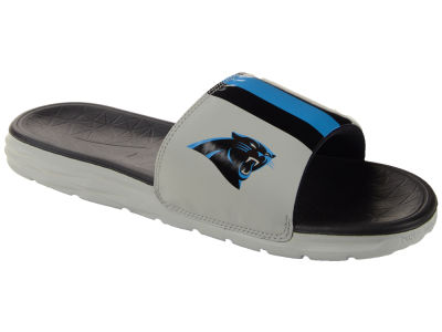 Carolina Panthers Nike NFL Men's Benassi Solarsoft Slide Sandals