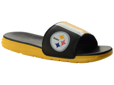 Pittsburgh Steelers Nike NFL Men's Benassi Solarsoft Slide Sandals