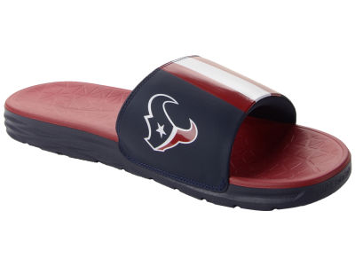 Houston Texans Nike NFL Men's Benassi Solarsoft Slide Sandals