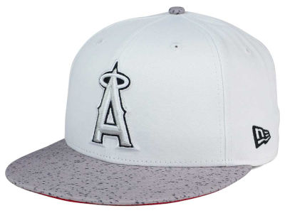 Los Angeles Angels New Era MLB Cement Hook 9FIFTY Snapback Cap