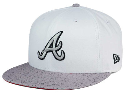 Atlanta Braves New Era MLB Cement Hook 9FIFTY Snapback Cap