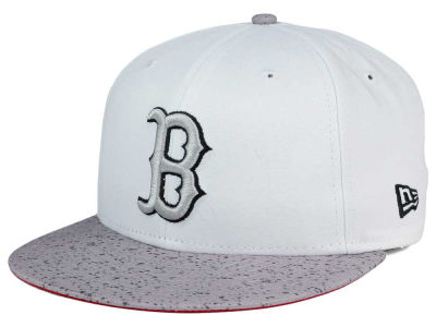 Boston Red Sox New Era MLB Cement Hook 9FIFTY Snapback Cap