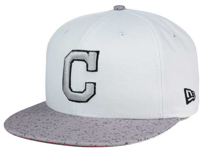 Cleveland Indians New Era MLB Cement Hook 9FIFTY Snapback Cap