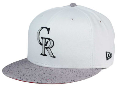 Colorado Rockies New Era MLB Cement Hook 9FIFTY Snapback Cap