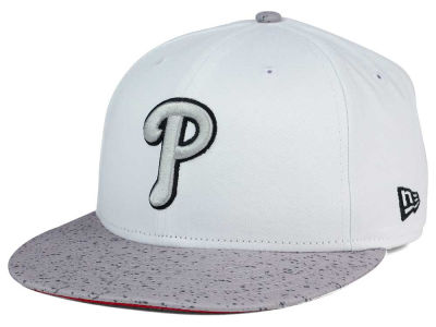 Philadelphia Phillies New Era MLB Cement Hook 9FIFTY Snapback Cap