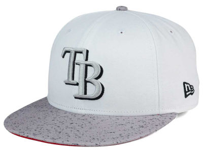 Tampa Bay Rays New Era MLB Cement Hook 9FIFTY Snapback Cap