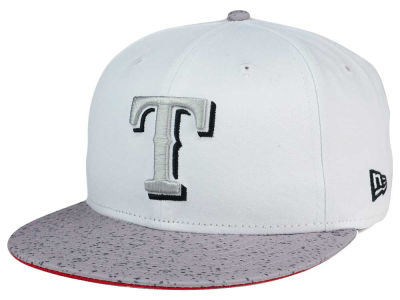 Texas Rangers New Era MLB Cement Hook 9FIFTY Snapback Cap