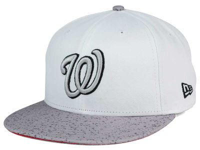 Washington Nationals New Era MLB Cement Hook 9FIFTY Snapback Cap