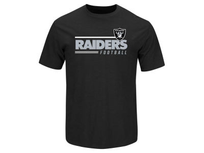 Oakland Raiders NFL Men's Line of Scrimmage T-Shirt