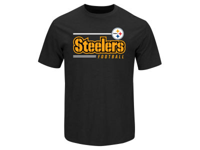 Pittsburgh Steelers NFL Men's Line of Scrimmage T-Shirt