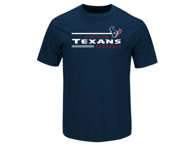 Houston Texans NFL Men's Line of Scrimmage T-Shirt