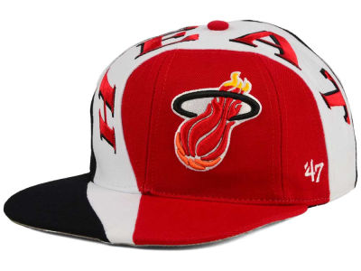 Miami Heat '47 NBA HWC Circuit '47 CAPTAIN Snapback Cap