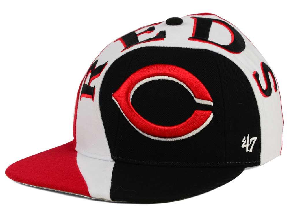 on sale 8a69b 99146 Cincinnati Reds  47 MLB  47 Circuit Snapback Cap   lids.com