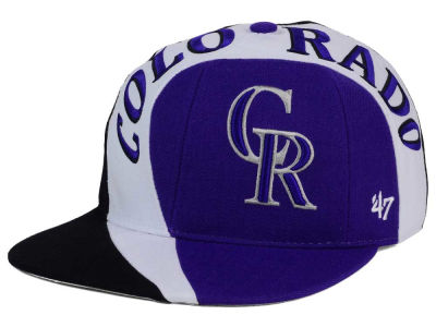 Colorado Rockies '47 MLB '47 Circuit Snapback Cap