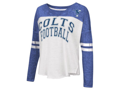 Indianapolis Colts G-III Sports NFL Women's Field Position Long Sleeve T-Shirt