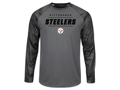 Pittsburgh Steelers NFL Men's League Rival Long Sleeve T-Shirt