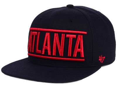 Atlanta Braves '47 MLB TC On Track Snapback Cap